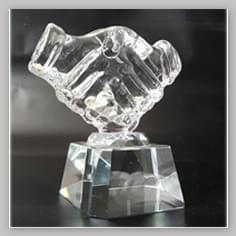 Награды из стекла различной формы